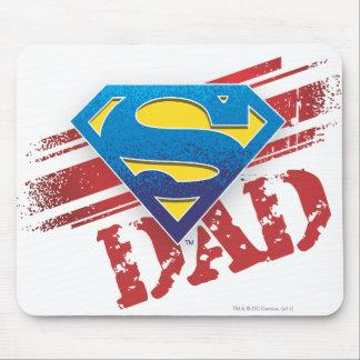 Super Dad Stripes Mouse Pad