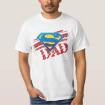 Super Dad Stripes T Shirts