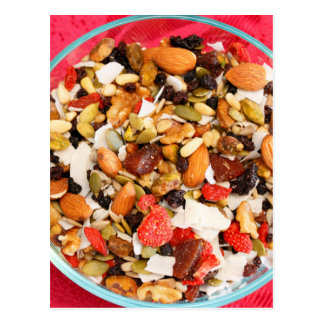 Super Fruit and Nut Mix Postcard