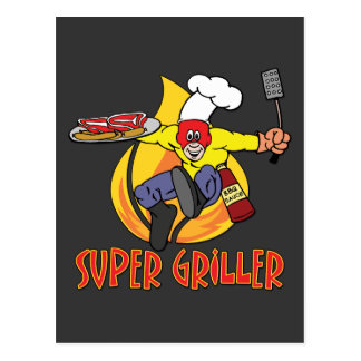Super Griller Postcard