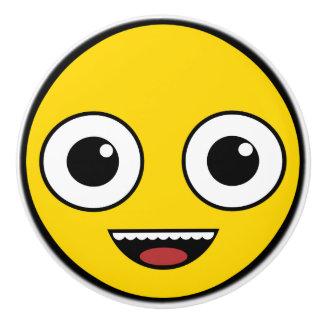 Super Happy Face Ceramic Knob