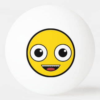 Super Happy Face Ping Pong Ball
