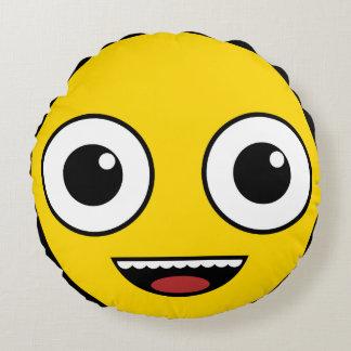 Super Happy Face Round Cushion