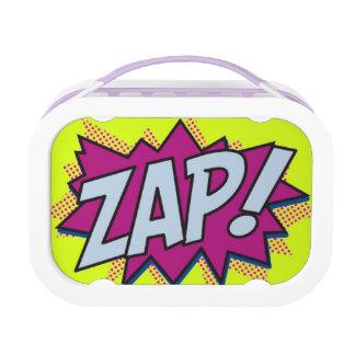 Super Hero Zap Word Splat Lunchbox Yubo Lunch Box