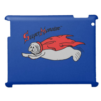 Super Manatee! Matte iPad case