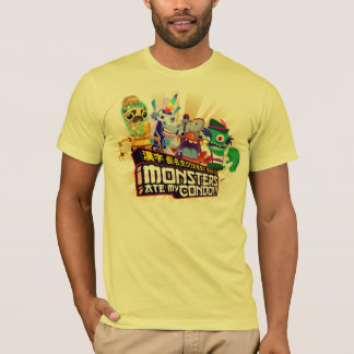 Super Monsters Ate My Condo - Hero Men's Tee