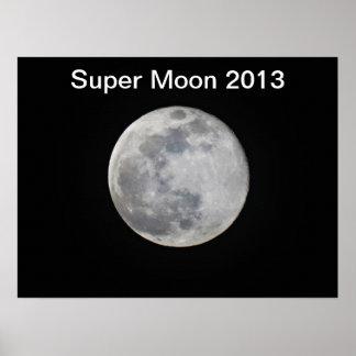 Super Moon 2013 Poster