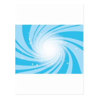 Super Nova Blue Postcard