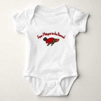 Super Platypus Baby Bodysuit