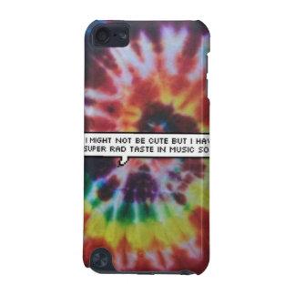 """Super Rad Taste in Music"" iPod 5 Case. iPod Touch 5G Case"
