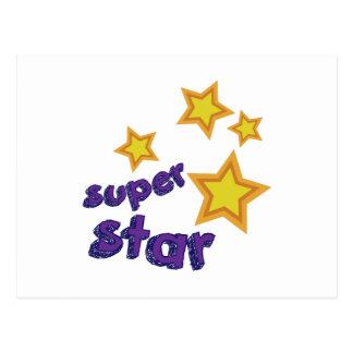 Super Star Postcard