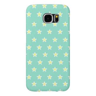 Super Star Sea Foam Green Samsung Galaxy S6 Cases