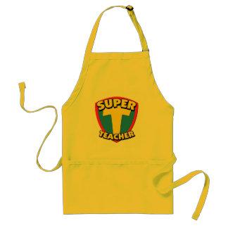 Super Teacher BBQ Apron