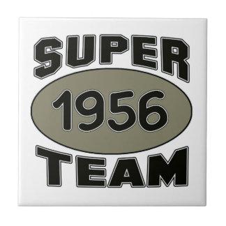 Super Team 1956 Small Square Tile