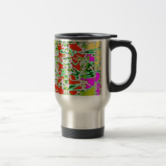 Super Techy Geek Digital Graphic Crazy Party gifts Stainless Steel Travel Mug