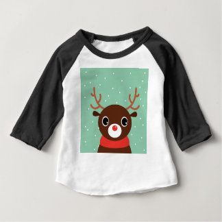 SUPERCUTE MANGA REINDEER BABY T-Shirt