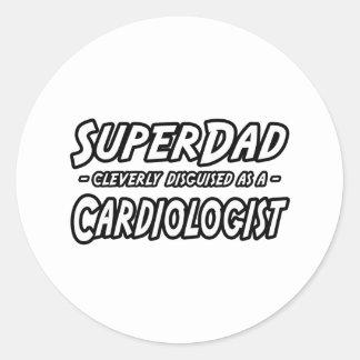 SuperDad...Cardiologist Sticker