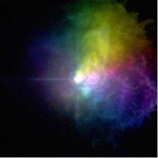 Supergiant Star VY Canis Majoris Photo Sculpture
