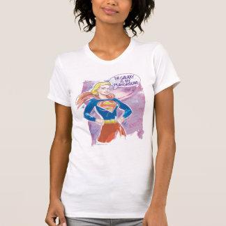 Supergirl Galaxy T-Shirt