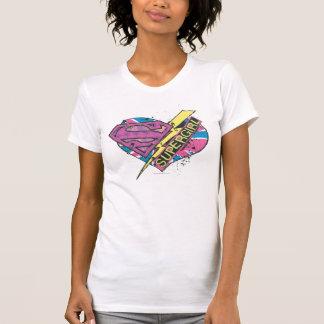 Supergirl Heart and Bolt T-Shirt