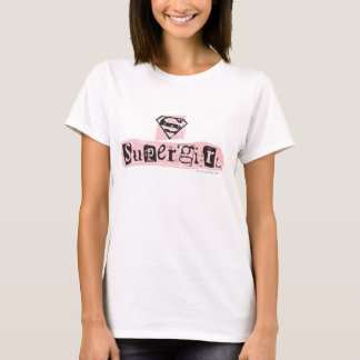 Supergirl Logo Ransom Note T-Shirt