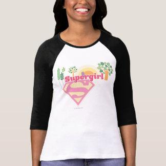 Supergirl Nature Logo T-Shirt