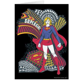 Supergirl Random World 1 Card