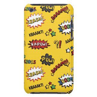 Superhero Colorful Fun Pattern iPod Case-Mate Case