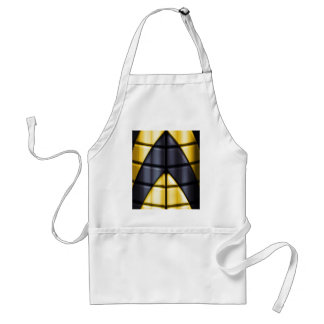 Superheroes - Black and Yellow Aprons