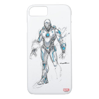 Superior Iron Man Sketch iPhone 8/7 Case