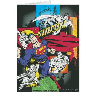 Superman Comic Black Card