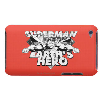 Superman Earth's Hero Barely There iPod Cases