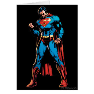 Superman  - Hand in fist Card