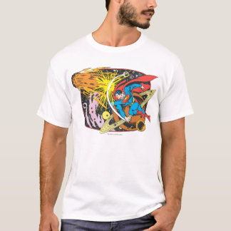 Superman in Space T-Shirt