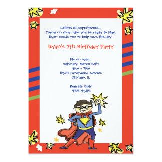 Superman Invitations