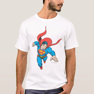 Superman Leaps Forward T-Shirt