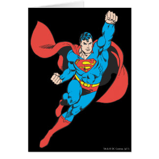 Superman greeting cards from Zazzle