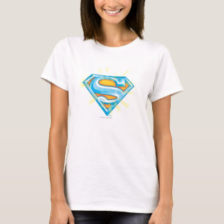 Superman S-Shield | Blue and Orange Logo T-Shirt