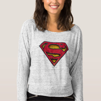Superman S-Shield | Distressed Logo T-Shirt