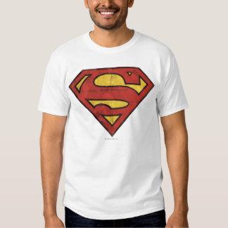 Superman S-Shield | Grunge Logo Tee Shirts