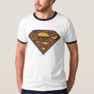 Superman S-Shield   Newspaper Logo T-Shirt