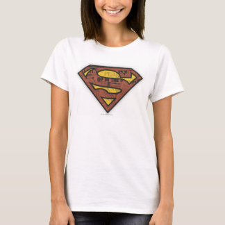 Superman S-Shield | Newspaper Logo T-Shirt