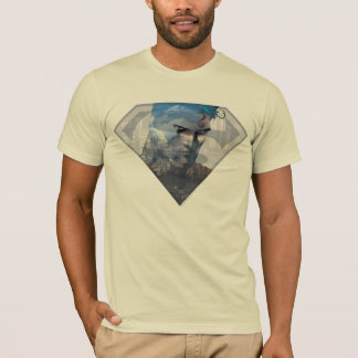 Superman S-Shield | Superman in S-Shield Logo T-Shirt