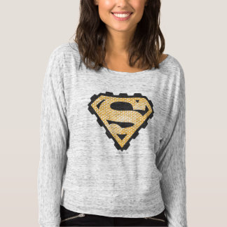 Superman S-Shield | Tan Logo T-Shirt