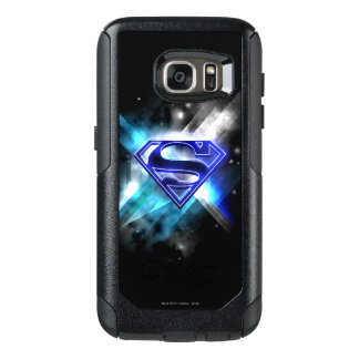 Superman Stylised | Blue White Crystal Logo OtterBox Samsung Galaxy S7 Case