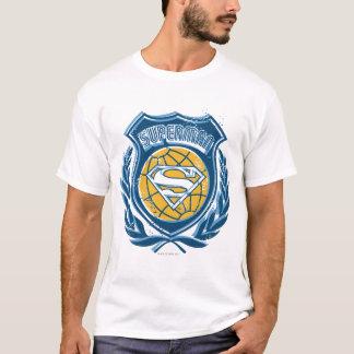 Superman Stylized | Crest with Globe Logo T-Shirt