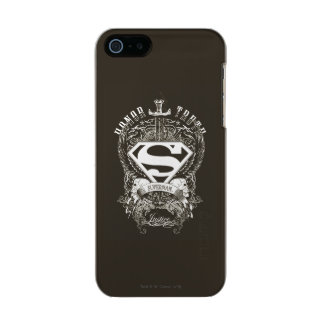 Superman Stylized | Honor, Truth and Justice Logo Incipio Feather® Shine iPhone 5 Case