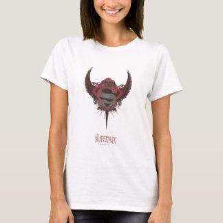 Superman Stylized | Skull and Wings Logo T-Shirt