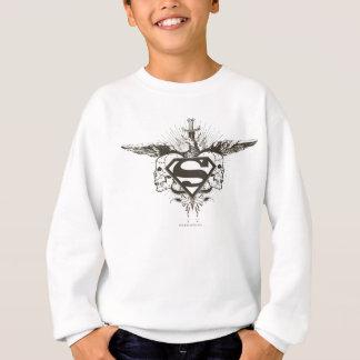 Superman Stylized | Skulls Logo Sweatshirt