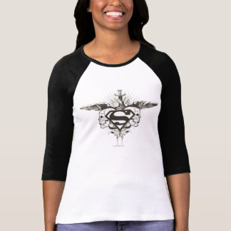 Superman Stylized | Skulls Logo T-Shirt